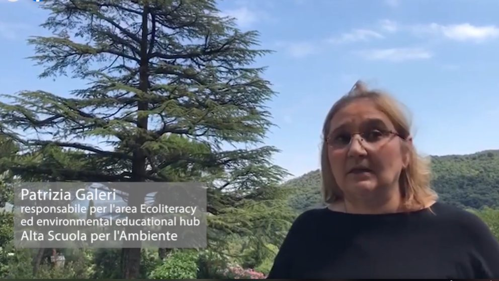 Prof.ssa Patrizia Galeri referente area Ecoliteracy ed environmental educational hub